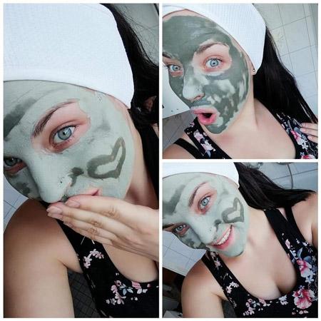 Zaubermaske Gletscherschlamm-Maske